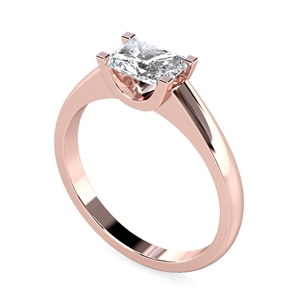 Image for Unique Radiant Diamond Engagement Ring