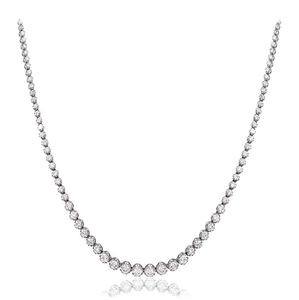 Buy Round Shape Diamond Necklace