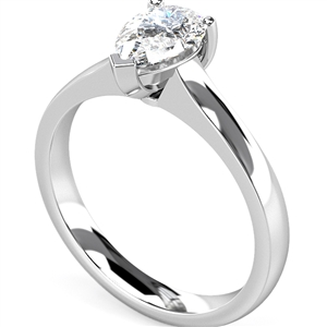 Image for Traditional  Pear Diamond Engagement Ring