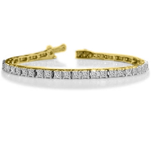 Image for 3.00CT SI/FG Princess Diamond Bracelet