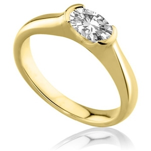 Image for Oval Diamond Engagement Ring