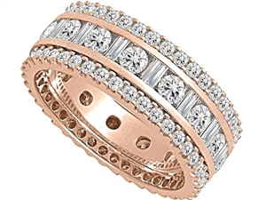 Image for 2.50CT 3 Row Diamond Full Eternity/Dress Ring