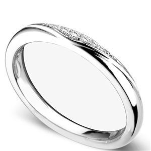 Image for 2.5mm Shaped Diamond Wedding Ring