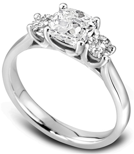Buy Trilogy Engagement Rings Online