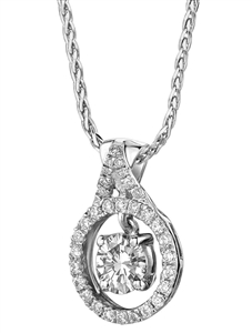 Image for Stylish Round Diamond Designer Pendant