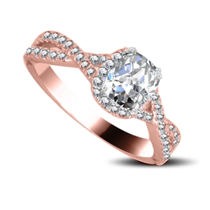 Buy Shoulder Set Engagement Rings Online