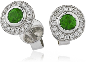 Buy Gemstone & Diamond Earrings Online