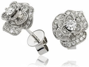 Buy Designer Diamond Earrings Online