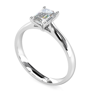 Image for Elegant Emerald Diamond Engagement Ring