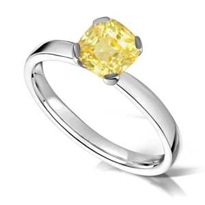 Buy Yellow Diamond Engagement Rings Online