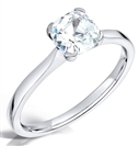 Image for Modern Cushion Diamond Engagement Ring