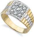 Image for Unique Mens Diamond Ring