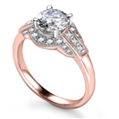 Image for Modern Round Diamond Designer Ring