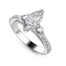 Image for Unique Marquise Diamond Designer Ring