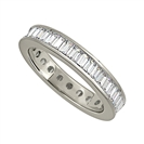 1.50ct Classic Baguette Diamond Full Eternity Ring