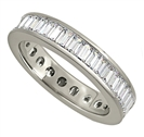 2.50ct Classic Baguette Diamond Full Eternity Ring