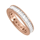 Image for 1.25ct Classic Baguette Diamond Full Eternity Ring