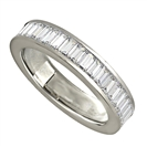 Image for 2.00ct Classic Baguette Diamond Full Eternity Ring