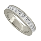 2.50ct Elegant Princess Diamond Full Eternity Ring