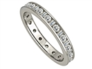 0.75CT VS/EF Round Diamond Eternity Ring