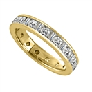 Image for 1.50ct Round & Baguette Diamond Full Eternity Ring