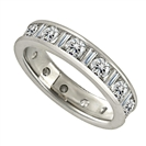 2.00ct Round & Baguette Diamond Full Eternity Ring