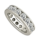 2.00ct Elegant Round Diamond Full Eternity Ring