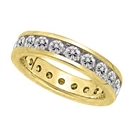 Image for 3.50ct Elegant Round Diamond Full Eternity Ring