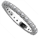 Image for 2.5mm Elegant Princess Diamond Full Eternity Ring