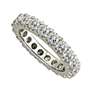 2.50CT Elegant Round Diamond Full Eternity Ring