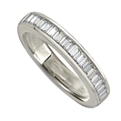 1.00ct Elegant Baguette Diamond Eternity Ring