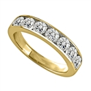 Image for 1.00ct Elegant Round Diamond Eternity Ring