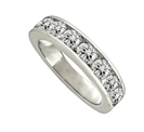 Image for 1.50ct Elegant Round Diamond Eternity Ring