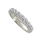 1.00ct Elegant Round Diamond Eternity Ring