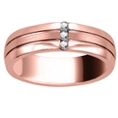 Image for 6.5mm Mens Round Diamond Ring
