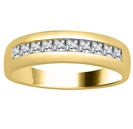 Image for 6.5mm Mens Princess Diamond Ring