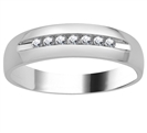 Image for 6mm Mens Round Diamond Ring