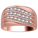 Image for 5mm Mens Round Diamond Ring
