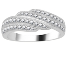 Image for 7.5mm Designer Cluster Dress Ring