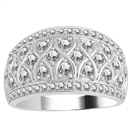 Image for 12.5mm Designer Cluster Dress Ring