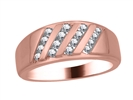 Image for 3.5mm Mens Round Diamond Ring
