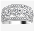 Image for 10.5mm Designer Dress Ring