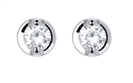 0.20CT VS/FG Classic Diamond Stud Earrings