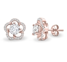 Image for Round Diamond Designer Earrings