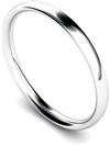 2mm Court Shape Wedding Ring