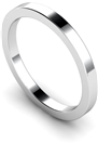 Image for 2mm Flat Wedding Ring