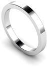 Image for 2.5mm Flat Wedding Ring