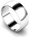 Image for 8mm D Shape Wedding Ring