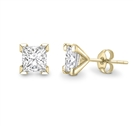 Image for Princess Diamond Halo Earring Jacket