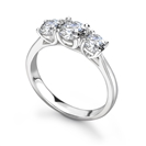 Image for Crossover Round Diamond Trilogy Ring